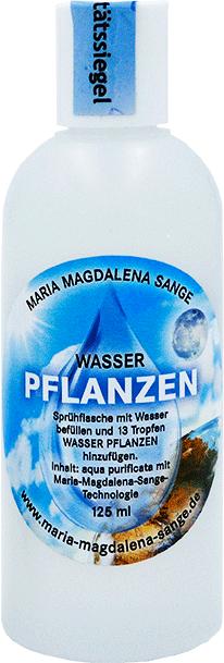 Lichtmatrix Pflanzenwasser