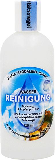 Lichtmatrix Wasser für ökologisches Reinigen